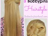 Easy One Minute Hairstyles Easy 1 Minute Knotted Hairstyle Babes In Hairland