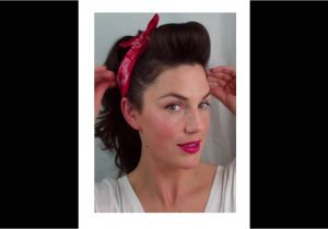 Easy Pin Up Girl Hairstyles 6 Pin Up Looks for Beginners Quick and Easy Vintage