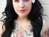 Easy Pin Up Girl Hairstyles Easy Pin Up Hairstyles with Bangs for Cute Teenagers New