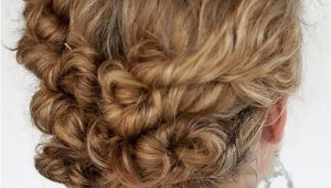 Easy Pin Up Hairstyles for Curly Hair 32 Easy Hairstyles for Curly Hair for Short Long