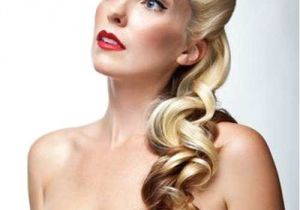 Easy Pinned Up Hairstyles 25 Pin Up Hairstyles for Long Hair