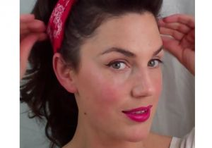 Easy Pinned Up Hairstyles 6 Pin Up Looks for Beginners Quick and Easy Vintage