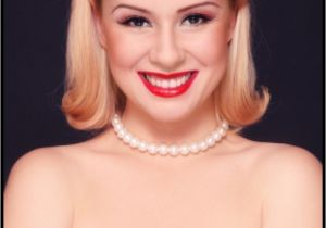 Easy Pinned Up Hairstyles Easy Pin Up Hairstyles for Medium Hair You Should Really