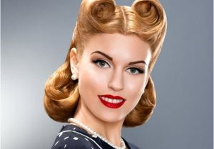 Easy Pinned Up Hairstyles Vintage Hairstyles Hairstyles