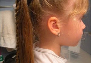 Easy Ponytail Hairstyles for Kids Cute Braided Hairstyles for Kids Awesome Braided
