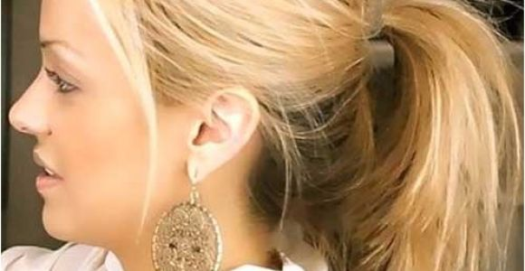 Easy Ponytail Hairstyles for Medium Length Hair 30 Easy and Cute Hairstyles