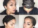 Easy Protective Hairstyles for Short Natural Hair Easy Protective Styles