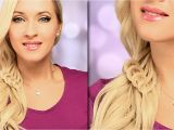 Easy Side Swept Hairstyles Braided Hairstyle for Everyday Cute and Easy Side Swept