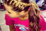 Easy Sporty Hairstyles Easy Hairstyle French Braid Your Bangs and Pull Back Into