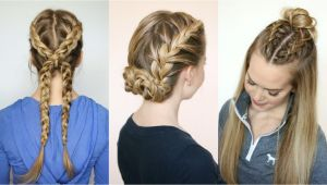 Easy Sporty Hairstyles Gorgeous Sporty Hairstyles for Summer the Hairstyles