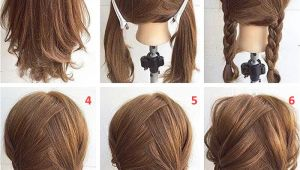 Easy Step by Step Hairstyles for Medium Length Hair Easy Step by Step Hairstyles for Medium Hair