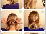 Easy Step by Step Hairstyles for Medium Length Hair Straight Hairstyle Step by Step Medium Hair La S