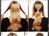 Easy Steps to Make Hairstyles 10 Ways to Make Cute Everyday Hairstyles Long Hair
