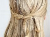 Easy Tie Up Hairstyles 20 Trendy Half Braided Hairstyles