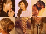 Easy Tie Up Hairstyles Simple Tied Up Hairstyles