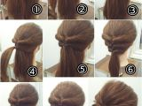 Easy Tied Up Hairstyles for Short Hair I M Going to Try This Updo Hairstyle Pinterest