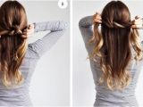 Easy Tied Up Hairstyles Simple Tied Up Hairstyles
