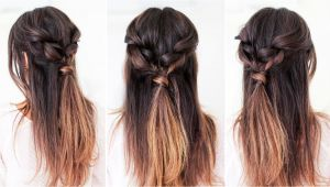 Easy to Do Everyday Hairstyles for Long Hair Easy Everyday Hairstyle