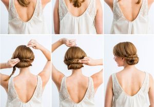Easy to Do Hairstyles for A Wedding 10 Best Diy Wedding Hairstyles with Tutorials