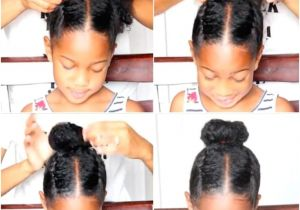 Easy to Do Hairstyles for Black Hair 17 Cute and Easy Hairstyles for Kids