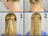 Easy to Do Hairstyles for Long Hair Step by Step Easy Updos for Long Hair Step by Step to Do at Home In