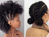 Easy to Do Hairstyles for Natural Hair 21 Chic and Easy Updo Hairstyles for Natural Hair