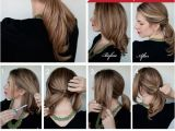 Easy to Do Hairstyles Instructions Twisted Ponytail Tutorial Purty Pinterest