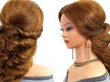 Easy to Do Prom Hairstyles for Long Hair Easy Wedding Prom Hairstyle for Long Hair Tutorial