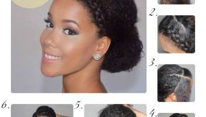 Easy to Do Protective Hairstyles for Natural Hair 3 Gorgeous Curly Styles for Prom Natural Hair Pinterest