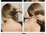 Easy to Do Side Hairstyles Side Swept Hair Tutorial Hairdtyles Pinterest