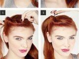 Easy to Do Vintage Hairstyles Easy Retro Hair Tutorial Love and Sayings