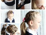 Easy to Make Hairstyles for School 10 Easy Hairstyles for Girls somewhat Simple