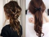 Easy Up Hairstyles for School Collection Of Easy Hairstyles for School