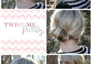 Easy Up Hairstyles for Shoulder Length Hair 18 Quick and Simple Updo Hairstyles for Medium Hair