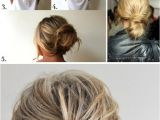 Easy Up Hairstyles to Do Yourself Easy Updos for Long Hair Step by Step to Do at Home In