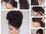 Easy Updo Hairstyles for Short Natural Hair 81 Best Black Hair Updos Images