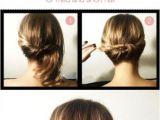 Easy Updo Hairstyles for Thin Short Hair Short Stuff Hair Envy