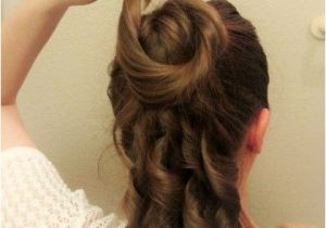 Easy Victorian Hairstyles A Simple 1870s Hairstyle Tutorial and A Review Of Mona