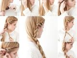 Easy Way to Make Hairstyles Side Braid Hairstyle Tutorial S and