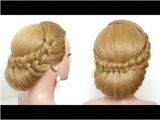 Easy Wedding Hairstyles Youtube Bridal Hairstyle Wedding Updo for Long Hair Tutorial Step by Step