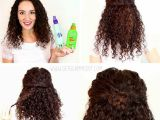 Easy Work Hairstyles for Curly Hair Easy Natural Curly Hairstyles