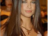 Elegant Hairstyles Long Straight Hair Adriana Has Incredibly Long Straight Hair This is A Classy and