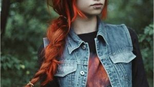 Emo Braided Hairstyles 64 Interesting Emo Hairstyles for Girls