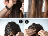 Everyday Hairstyles for Long Hair Tutorials Ponytail Hairstyles Tutorials Fun Half Fishtail Hairstyle Popular