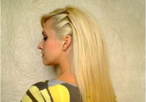 Everyday Hairstyles Straight Hair Cute Easy Party Hairstyle for Medium Hair Back to School Everyday