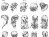 Fairy Hairstyles Drawing 251 Best Faire Hair Images