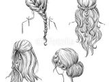Fairy Hairstyles Drawing Drawing Hairstyles Profile Google Search Art Diy