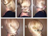 Fancy but Easy Hairstyles Easy Elegant Updo