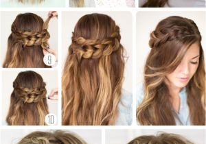 Fancy Easy Hairstyles for Long Hair Quick Easy formal Party Hairstyles for Long Hair Diy Ideas