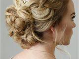 Fancy Side Braid Hairstyles Braid Embellished Updo